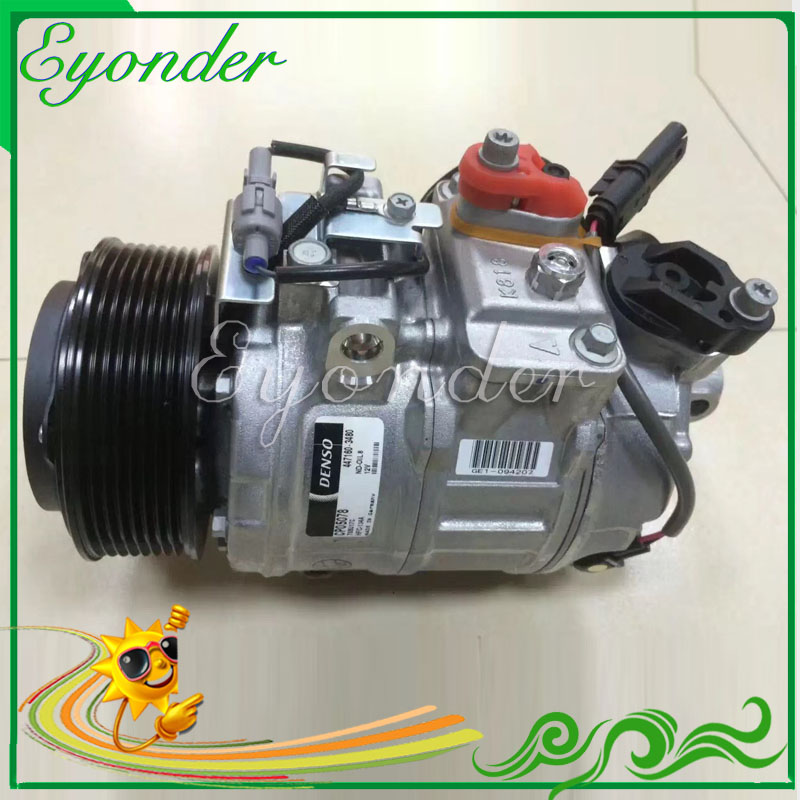 Auto Aircon AC A/C Air Conditioning Cooling Compressor 7SBU17C for BMW X5 F15 F85 E70 xDrive X6 E71 E72 35i N54 N55 64529217868 520w cooling capacity fridge compressor r134a suitable for supermaket cooling equipment