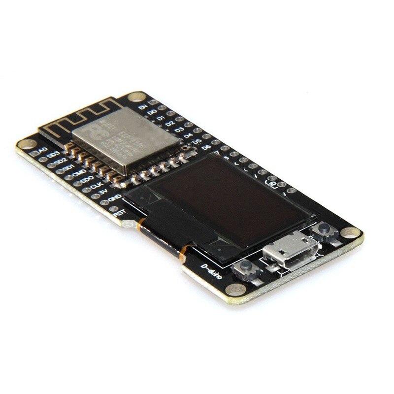 New NODEMCU WIFI and ESP8266 NODEMCU 0.96-inch or 1.3-inch OLED For Arduino ESP12F ESP32 OLED wemos cp2102 esp8266 esp 12f wireless wifi module usb to ttl development board 0 96 oled display micro usb for arduino nodemcu