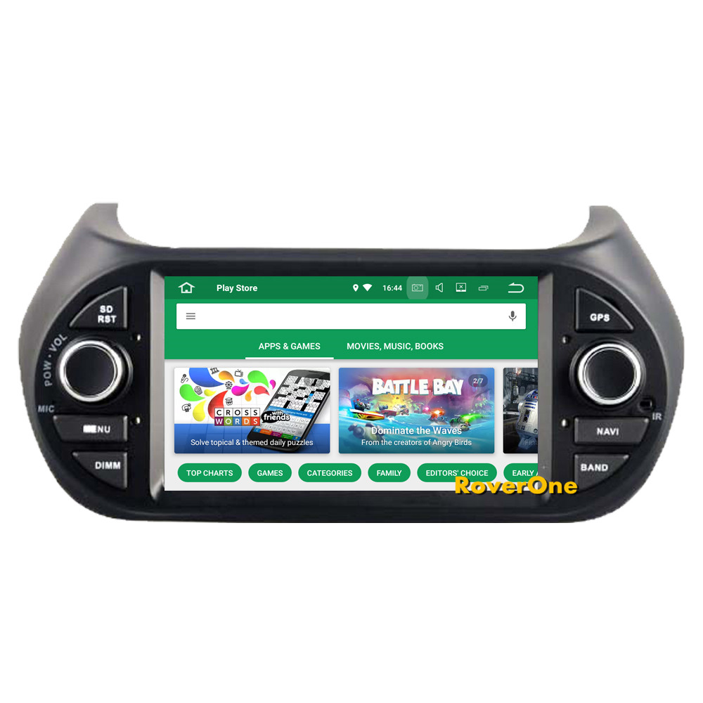 Cheap RoverOne Car Multimedia Player For Fiat Fiorino Qubo For Citroen Nemo For Peugeot Bipper Android 9.0 Octa Core Radio Navigation 10