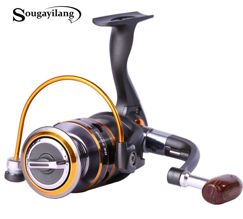 Sougayilang 11bb metal spool spool left right for Fishing line on reel