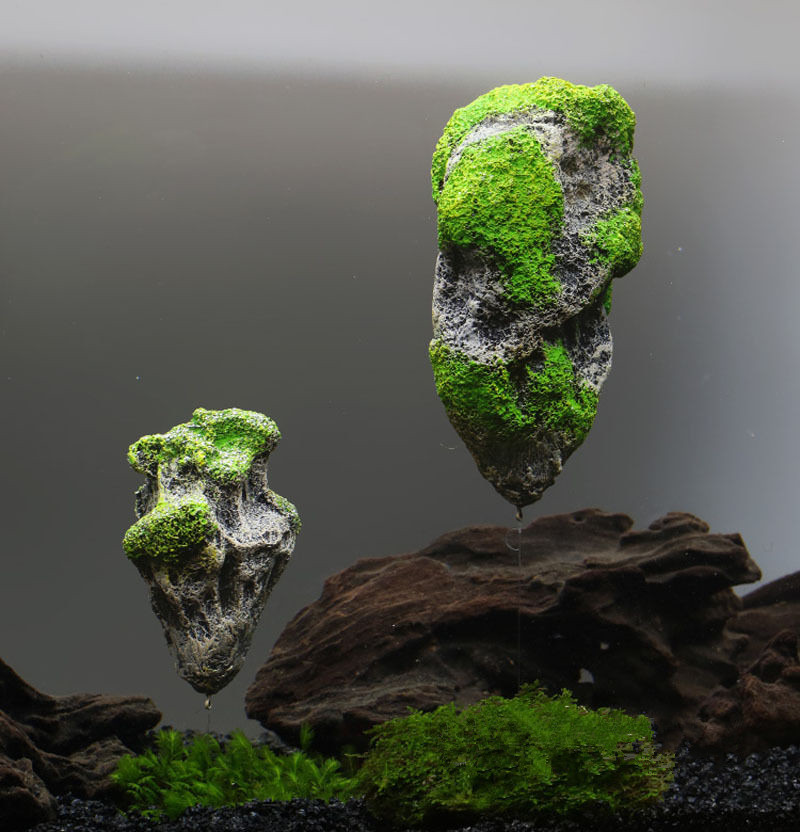 how to make moss rocks