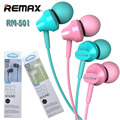Remax High Performance music gaming  Stereo earphones w Mic and In-Line Control  for iphone android phones RM-501