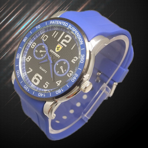 Ferrary Logo Wrist Watch (6 colors)