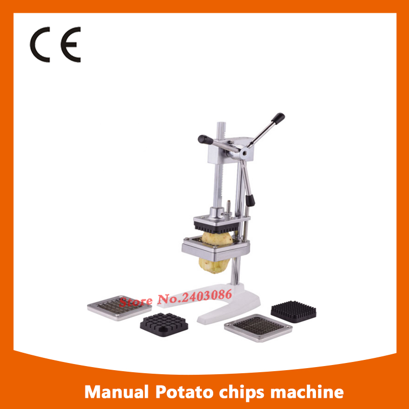 Фотография Commercial Restaurant Heavy Duty Manual Potato Chips Cutter French Fry Cutter