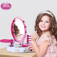 Pretend Play Beauty Fashion Toys Children's Dressing Table Girls Princess Cosmetics Non toxic Makeup Box Performance Toy Set