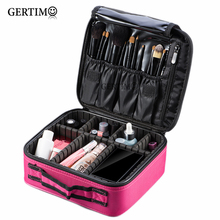 Women Portable Professional Cosmetic Bags on the Road Organizer Travel Make Up Vanity Bag Cases Cosmetics Suitcases Box Beauty