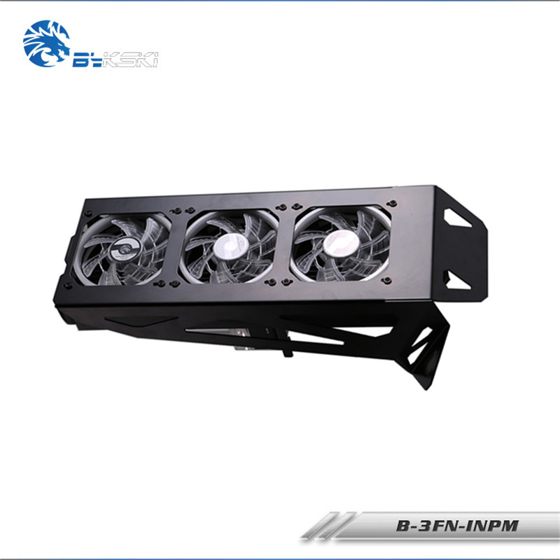 Bykski Radiator Stand Support Water Cooling Loop Kit Notebook Simple water cooling Fixed Components Fittings B 3FN INPM