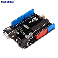 Classic UNO R3 ATmega328P Compatible For Arduino UNO Rev 3 0 No USB Cable