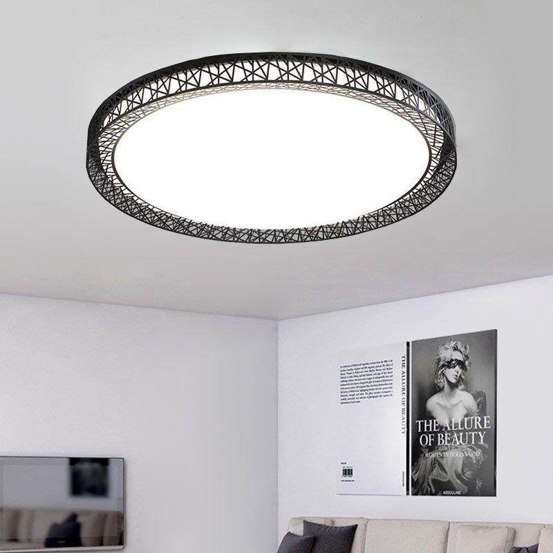 US $50.39 24% OFF|Bird\'s Nest Ceiling Light Lamparas De Techo Plafoniere  Lampara Techo Salon Bedroom Light For Home LED Ceiling Lamp Dcor Lantern-in  ...