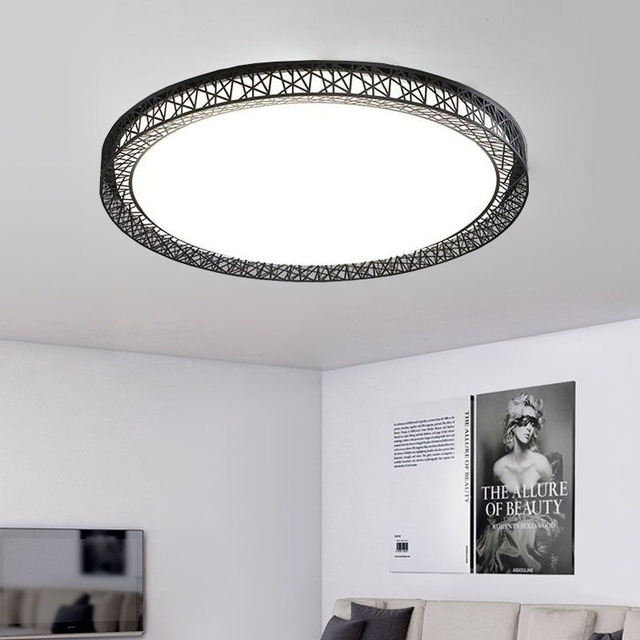 Birdu0027s Nest Ceiling Light Lamparas De Techo Plafoniere Lampara Techo Salon  Bedroom Light For Home LED