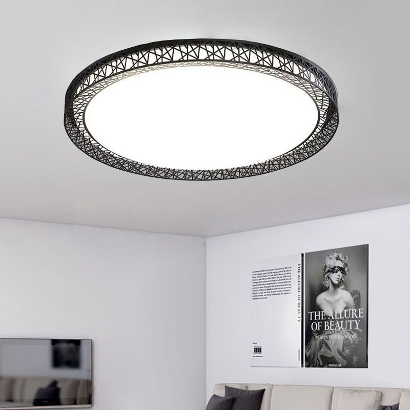 Birds Nest Ceiling Light Lamparas De Techo Plafoniere Lampara Techo Salon Bedroom Light For Home LED Ceiling Lamp Dcor Lantern