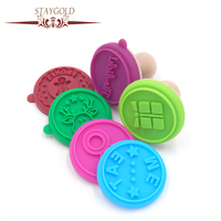 Cookie Stamp Cartoon Cookies Mold Silicone Seal Stainless Steel Cutters Diy Cake Suit Deer English Letters