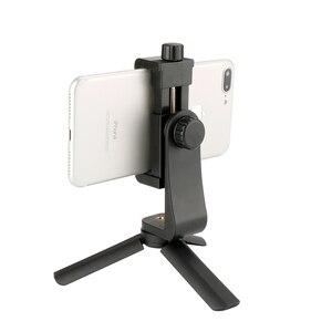 Image 2 - Ulanzi Mini trípode portátil para teléfono con rótula 1/4 para cámara, montaje de trípode para teléfono, iPhone, Moza, DJI, OSMO, Feiyu, Vimbal 2