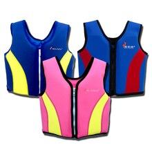 Детский спасательный жилет Водные виды спорта, серфинг, профессиональный спасательный жилет для детей одежда для плавания, катания на лодках, лыжная Спортивная одежда для детей от 2 до 9 лет