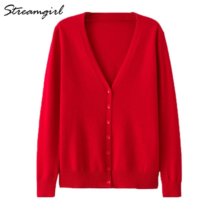 Women's Cashmere Cardigan Women Long Sleeve Knitted Female Cardigans Short Ladies Cardigans Plus Size Cardigan Femme Large Size