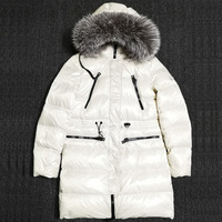 Children Winter Thicken Long Warm Clothes Kids Overcoat Children Winter Outwear Jackets Long Sleeve Hoodie Coats Down Jacket