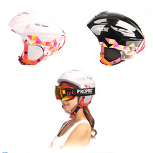 PROPRO Marke Skihelm Männlichen Frauen Winddichte Thermische Helm Einzigen Skifahren Skateboard Schutz Sport Schutzausrüstung SHM-001B