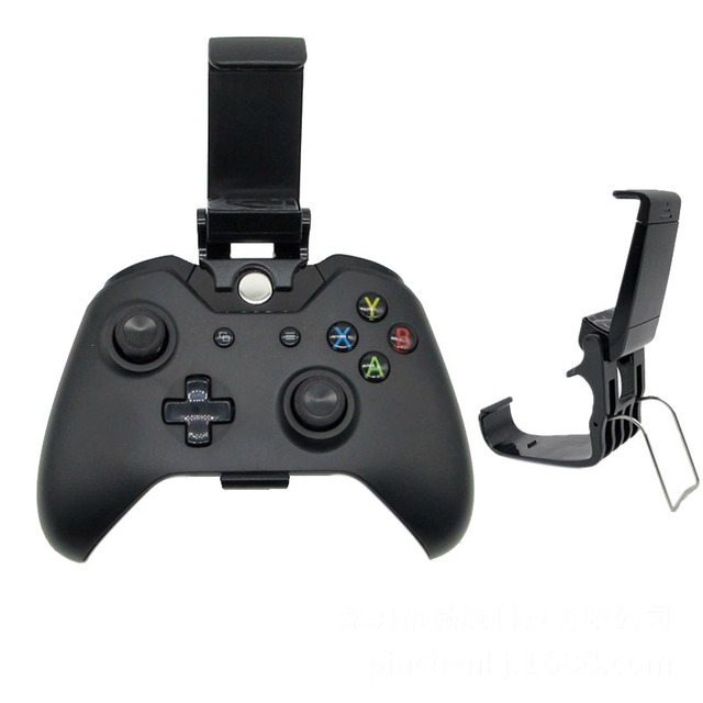 For Xbox ONE S/Slim Ones Controller Gamepad Adjustable Clip Holder Game  Playing Android IOS Phone Mount Bracket Handgrip Stand -in Replacement  Parts &