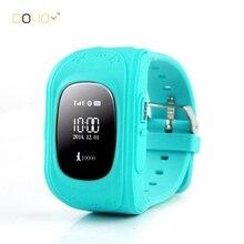 2016 Smart Kid Safe GPRS GPS Reloj Reloj SOS de Localización de Llamadas Monitor de Localizador Del buscador Del Perseguidor Perdida Anti Del Niño Bebé Regalo G36 Q50