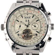 Reloj Hombre JARAGAR Fashion Watch Mens Day Flywheel Auto Mechanical