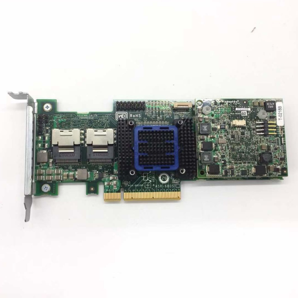 Riser Board Battery Adaptec ASR-6805T 6Gb//s SATA//SAS Raid Controller