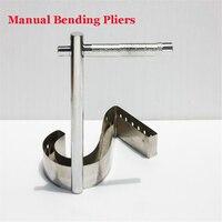1 Unidades Manual de Metal Tira de Flexión Alicates, Tipo U, redondeadas Ángulo de Plegado de Metales y Soldadura Alicates Herramienta de Canal