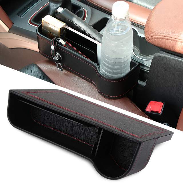 Car Seat Leak Proof Storage Box Crevice Bag Case For Toyota Prado FJ