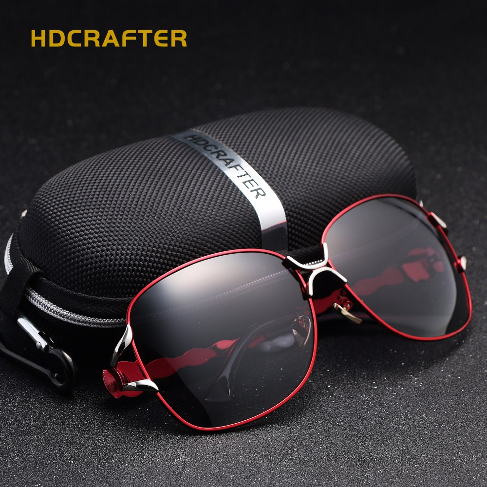 48d8f1c76b4c Fashion Cat Eye Sunglasses Women HDCRAFTER Brand Designer Sun Glasses For  Ladies Vintage Mirror Colorful Lens Female -in Sunglasses from Women's  Clothing & ...