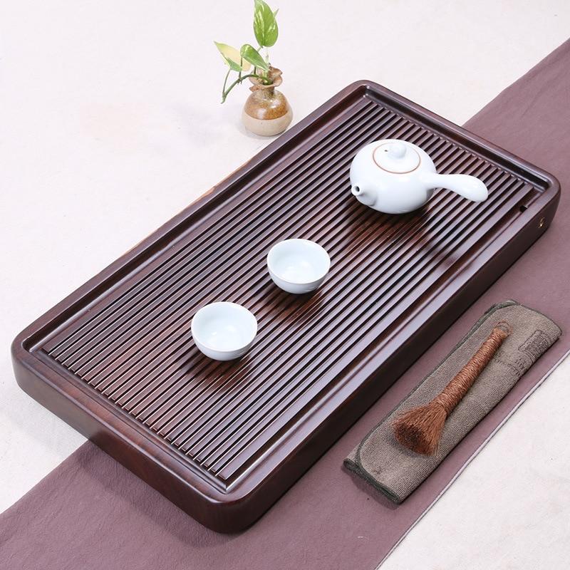 Top 20 Tea Platters: Chinese Solid Wooden Drinkware Tea Tray Tea Kung Fu Tea