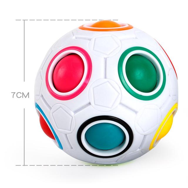 Magic Rainbow Ball Finger Toys