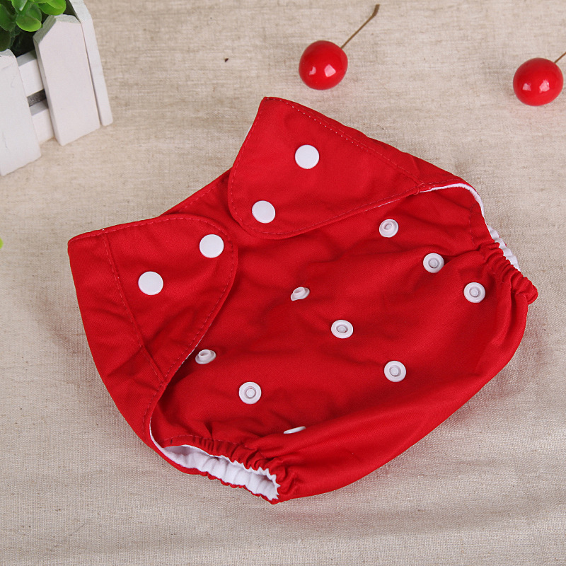 1pcs  Baby Diapers Washable Reusable Nappies Grid/Cotton Training Pant Cloth Diaper Baby Fraldas Winter Summer Version Diapers
