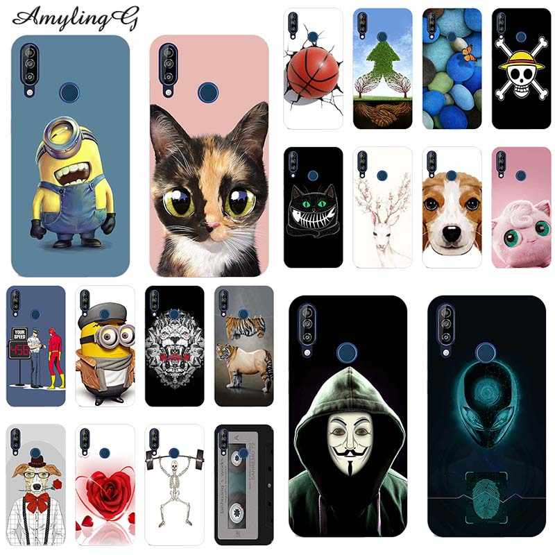 "Mode Telefoon Gevallen Voor Wiko View3 View 3 6.26 ""Case Back Cover Dier Bloem Rose Cartoon Patterned Soft Silicon TPU Fundas Tas"
