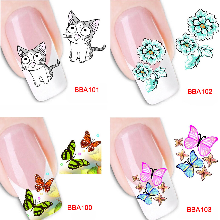 how to make custom nail stickers