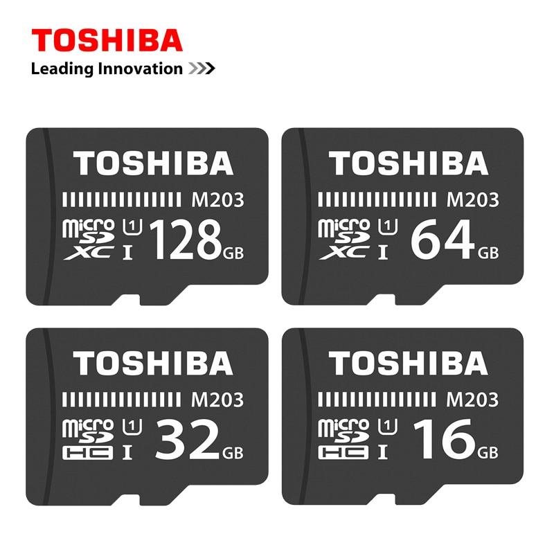 TOSHIBA Micro SD Card 16GB/32GB/64GB/128GB Memory TF Trans Flash Card Mini SD Card Class10 U1 Microsd Card For Smartphone/Tablet