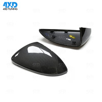 Dry Carbon Mirror Cover For Volkswagen VW Golf7 MK7 Rear Side View Caps Mirror Cover Replacement style 2013 2014 2015 2016 2017
