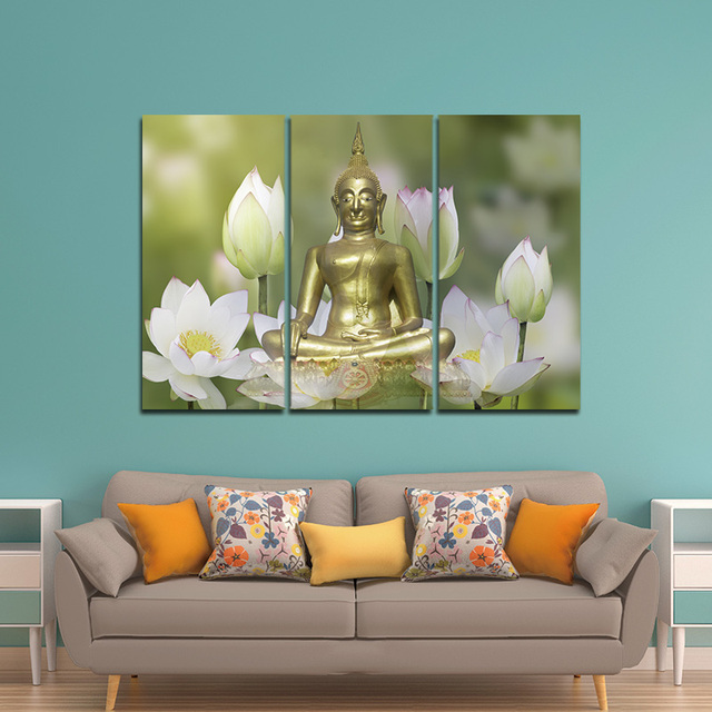 Lotus Flower Wall Art aliexpress - online shopping for electronics, fashion, home