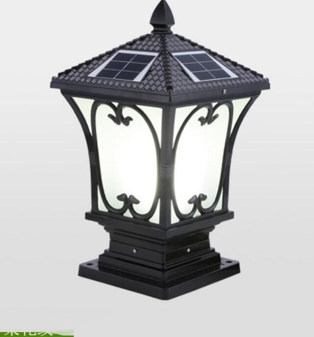 Outdoor Light Solar Energy Outdoor Wall LED Lamp Post Household Garden Waterproof Light FG204