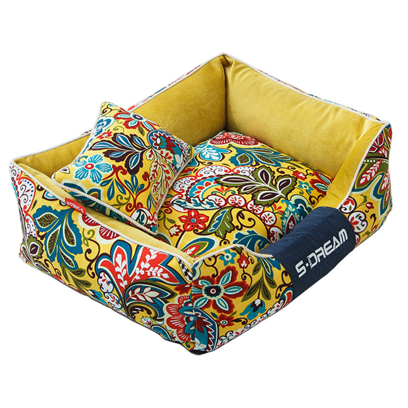 JORMEL Thick Pet Beds For Dogs Washable Soft Medium Large Big Dog Bed House Removable Winter