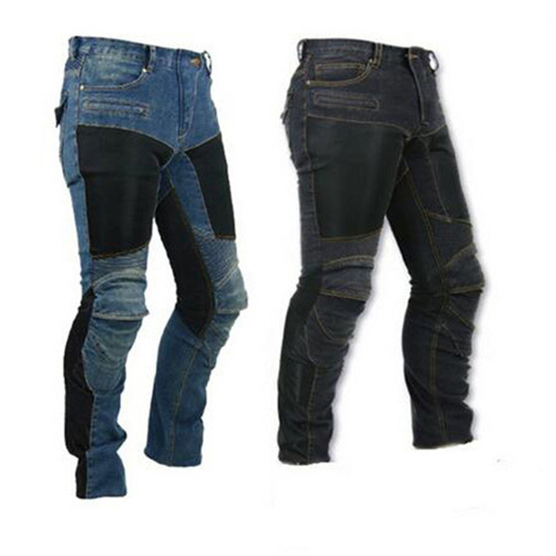 2019 KOMINE MOTORPOOL UBS06 PK719 Jeans Leisure Motorcycle Men s Off-road Outdoor Jean cycling Pants With Protect Equipment