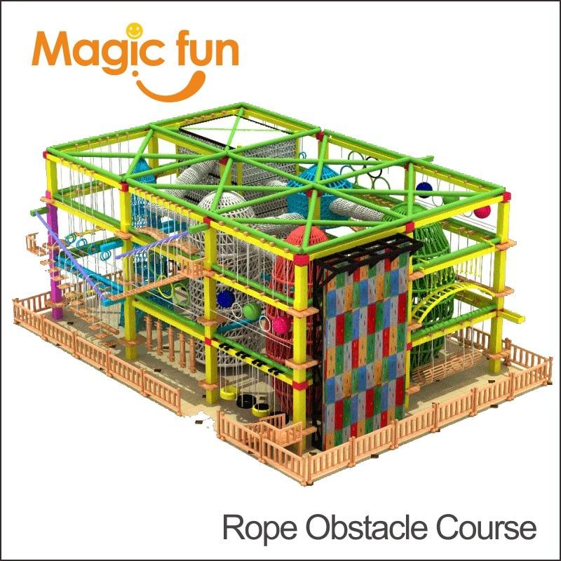 Magic Fun Top Manufacturer Supplies Park City Ropes Challenge Course