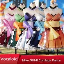 Vocaloid Hatsune Miku Megurine Luka Yowane Haku Gumi Kasane Teto Mercy All  Members Cosplay Costume For Women Free Shipping 7efbfa9384f0
