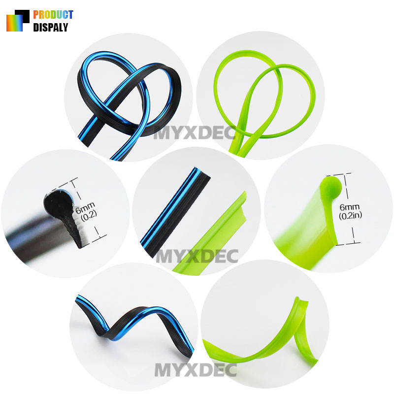 Image 3 - 5M Car Interior Mouldings Trims Decoration Line Strips Car styling Door Dashboard Air Outlet Decorative Sticker Auto Accessories-in Car Stickers from Automobiles & Motorcycles