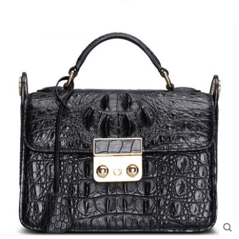 Cestbeau New Thai crocodile skin crocodile lady leather handbag female shoulder bag oblique fashion small side women bag yuanyu 2018 new hot free shipping real thai crocodile women handbag female bag lady one shoulder women bag female bag