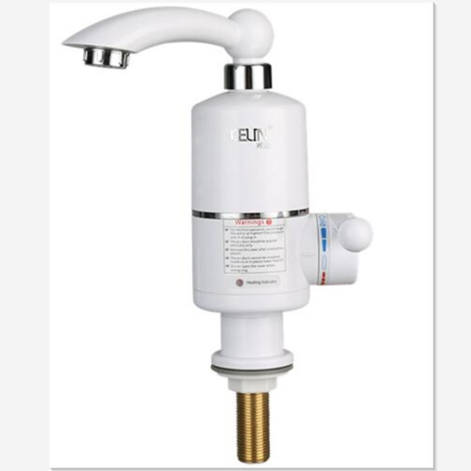 Tankless Water Heater Faucet Shower Instant Water-Heater Electric Tap Heating Instant Hot Water for Kitchen and Bathroom 3500w electric instant water heater tap instantaneous electric hot water faucet tankless heating bathroom kitchen faucet