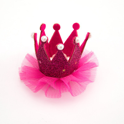 Birthday Crown  Pet Accessory