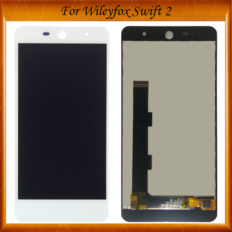 100% Tested OK For Wileyfox Swift 2 Swift 2 Plus LCD Display+Touch Screen Digitizer Assembly Black White COLORS IN Stock