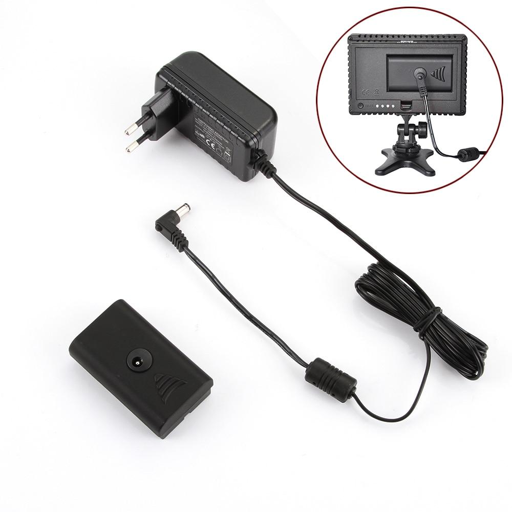 CN-AC2 AC 100~240V Power Adapter for Video Light CN-160 CN-126 YN300 II EU Plug