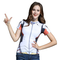 Game OWT Watch Over tshirt Tracer DVA Widowmaker Mercy Cos T Shirt Costume Cosplay Style Clothing
