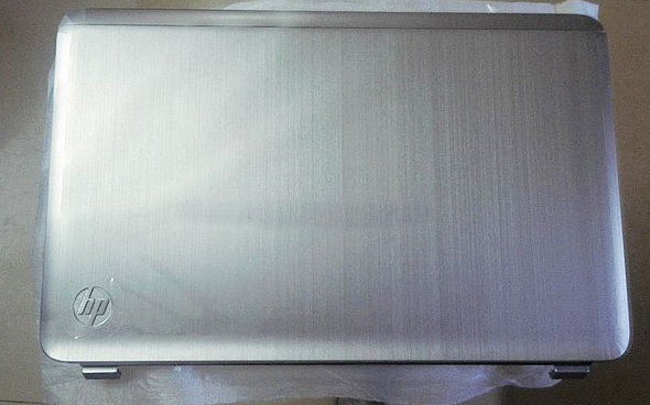 Original For HP Pavilion DV7 DV7-6000 LCD Back Cover 17.3'' silvery 665977-001 idlamp idlamp 802 8pf whitechrome