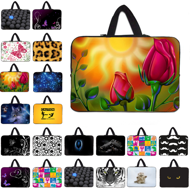 Brand New 13.3 12.8 15 14 17 10 inch Women's Sleeve Computer Bags 7 8.0 12 inch Neoprene Notebook Laptop Cases For Acer Teclast